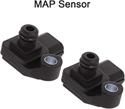SCITOO 798007240 Manifold Absolute Pressure Sensor 2PCS Fit For 2005-2008 Acura RL 2005-2006 Acura RSX
