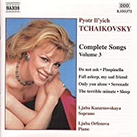 Tchaikovsky: Complete Songs, Vol. 3 (2001-04-09)
