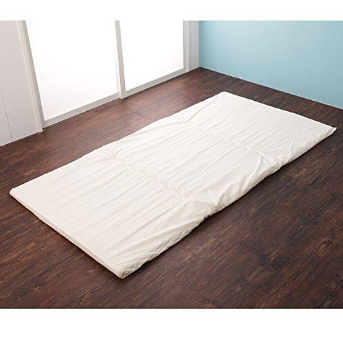 二段ベッド・ロフトベッド用固綿マットレス 3つ折りタイプ シングル