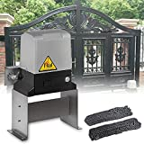550W Automatic Gate Opener,3300 LB Electric Sliding Gate Opener,with Two Remote Control,Magnetic Limit Switch