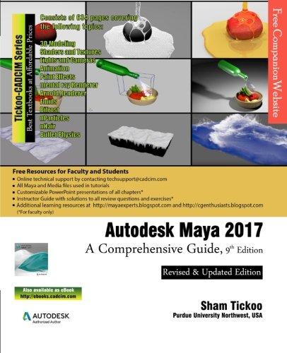 Autodesk Maya 2017: A Comprehensive Guide