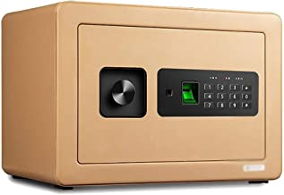 LLRYN Household Small Invisible All-Steel Fingerprint Password Safe Anti-Theft Bedside Table Mini Safe Box (Color : B)