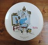 Norman Rockwell 'Triple Self Portrait' Plate