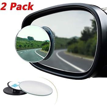 Stick On Blindspot Mirror Summit RV-16P Circular Blind Spot Mirror pack of two mirrors Convex Mirror