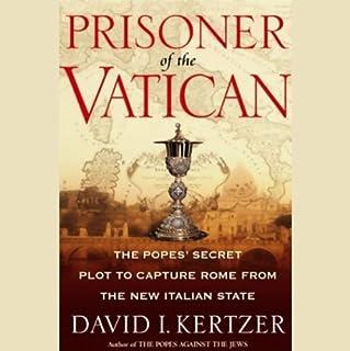 Prisoner of the Vatican audiobook cover art
