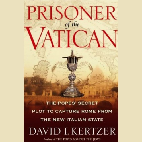 Prisoner of the Vatican audiobook cover art