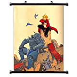 Full Metal Alchemist Anime Fabric Wall Scroll Poster (32' x 44') Inches [A]-FullMetalAlch-136 (L)