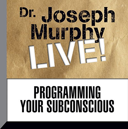 Programming Your Subconscious     Dr. Joseph Murphy LIVE!              By:                                                                                                                                 Dr. Joseph Murphy                               Narrated by:                                                                                                                                 Dr. Joseph Murphy                      Length: 1 hr     43 ratings     Overall 4.8