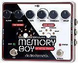 electro-harmonix Deluxe Memory Boy Deluxe Memory Boy Pedal - Pedal de efecto eco/delay/reverb para guitarra, color plateado