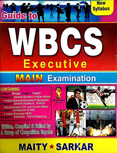 Guide to WBCS Executive MAIN Examination