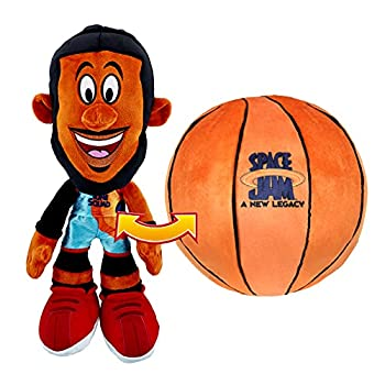 Space Jam  A New Legacy - Transforming Plush - 12  LeBron James into a Soft Plush Basketball - Exclusive