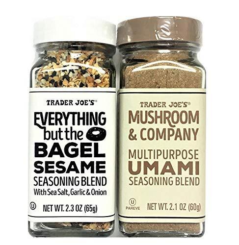 TJ Everything but The Bagel Sesame & Mushroom and Company Multipurpose UMAMI Seasoning Blend, 2 Packs