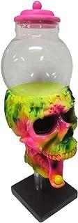 WOTEG Halloween Skull Cool Bubble Gum Machine Distributeur Distributeur De Bonbons Gumball Jouet Amusant pour Enfants Cool...