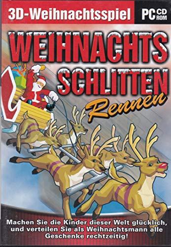 Weihnachts-Schlitten-Rennen