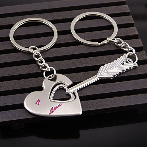 HINK Creative Couple Keychain Gift Cup Love Key Ring Keychains Jewelry & Watches For Woman Valentine Easter Gift