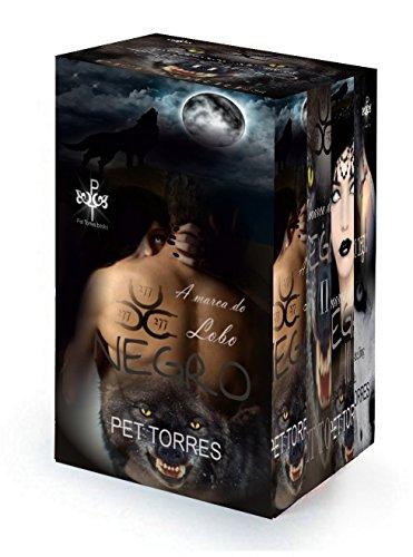 Box Série A Marca do Lobo Negro