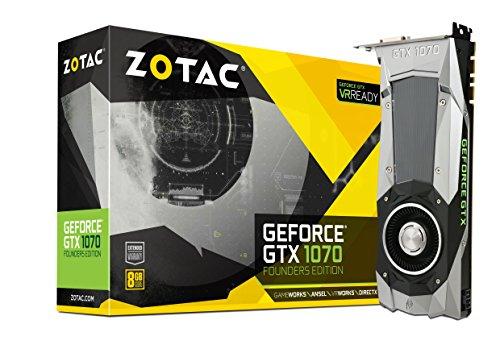ZOTAC GeForce GTX1070 Founder edition グラフィックスボード VD6054 ZTGTX1070-8GD5XFE001