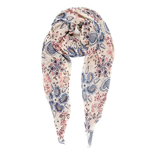 Scarf for Women Lightweight Paisley Fashion for Spring Summer Scarves Shawl Wrap (SS74)