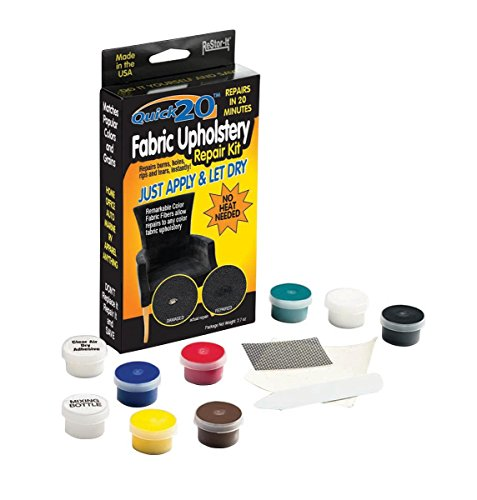 Master Manufacturing ReStor-it Quick 20 Fabric Upholstery Repair Kit, 20 Minute Repar, Fabric Fibers Repairs Any Color Fabric Or Upholstery