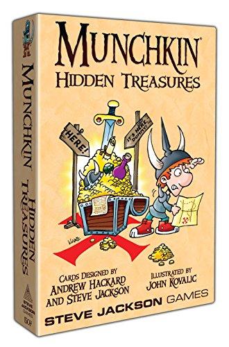 Steve Jackson Games sjg01507–Munchkin Hidden Treasures, Gioco di Carte