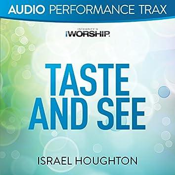 Taste and See [Audio Performance Trax]