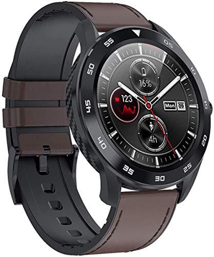 Reloj Inteligente Mujeres Frecuencia Cardíaca Fitness Podómetro Mujeres Impermeable Monitor de Presión Arterial Smartwatch Reloj de Pulsera P8-Oro Acero