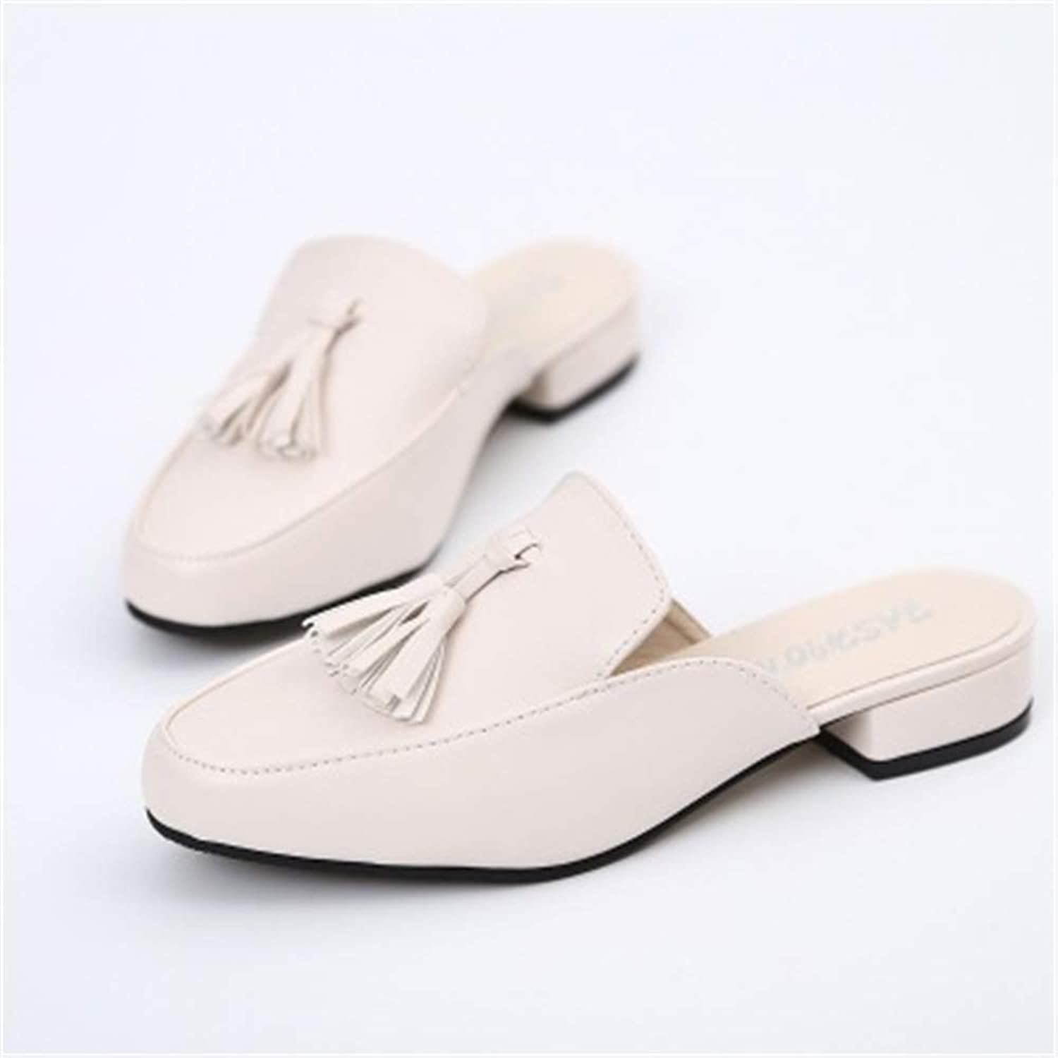 Duduxiaomaibu Mule Slippers Women,Slides Backless Dress Sandals