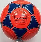 Lionstrike Ballon de football léger en cuir Taille 4, Orange