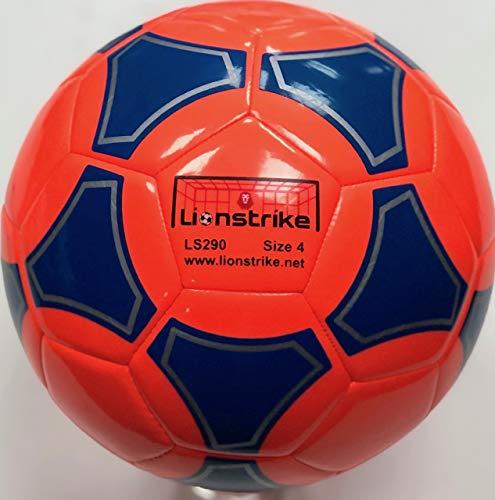 Lionstrike Balón de fútbol de Cuero Ligero, tamaño 4, Adecuado ...