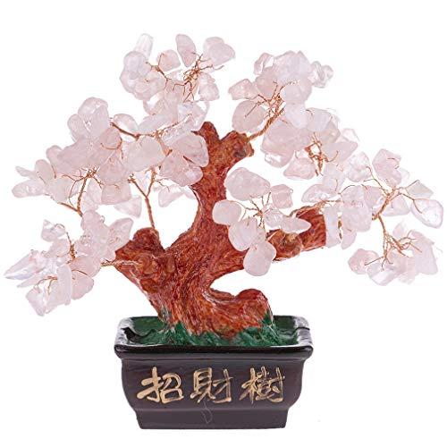 Lachineuse zuhaitz tradizionala kuartzo arrosaz - Feng Shui maitasuna eta fortuna