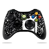 Protective Vinyl Skin Decal Skin Compatible with Microsoft Xbox 360 Controller wrap Sticker Skins Compositon Book