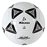 Mikasa Serious Soccer Ball (Black/White, Size 3)