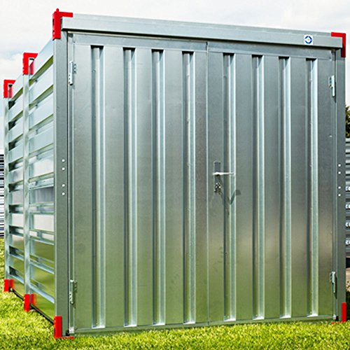 Container Baucontainer Lagercontainer Blechcontainer Gerätecontainer Materialcontainer 3,0 m (S)
