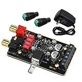 Class-D Amplifier Board, DROK Power Amp Module 15W+15W 2.0 Dual Channel Audio...