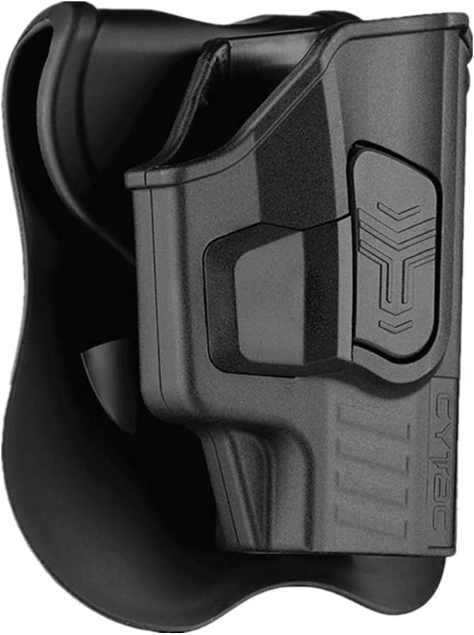 Sig P365 Holster OWB Leather Waistband Carry by CYTAC