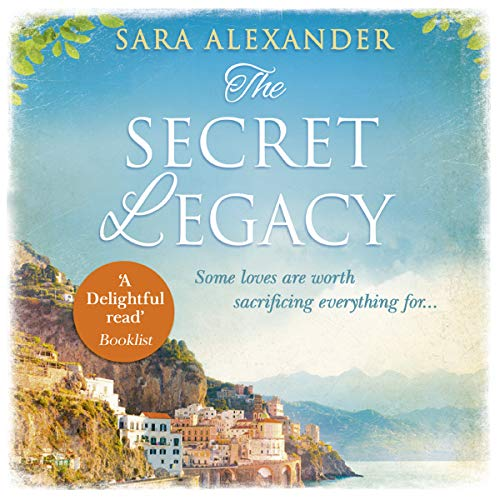 The Secret Legacy audiobook cover art
