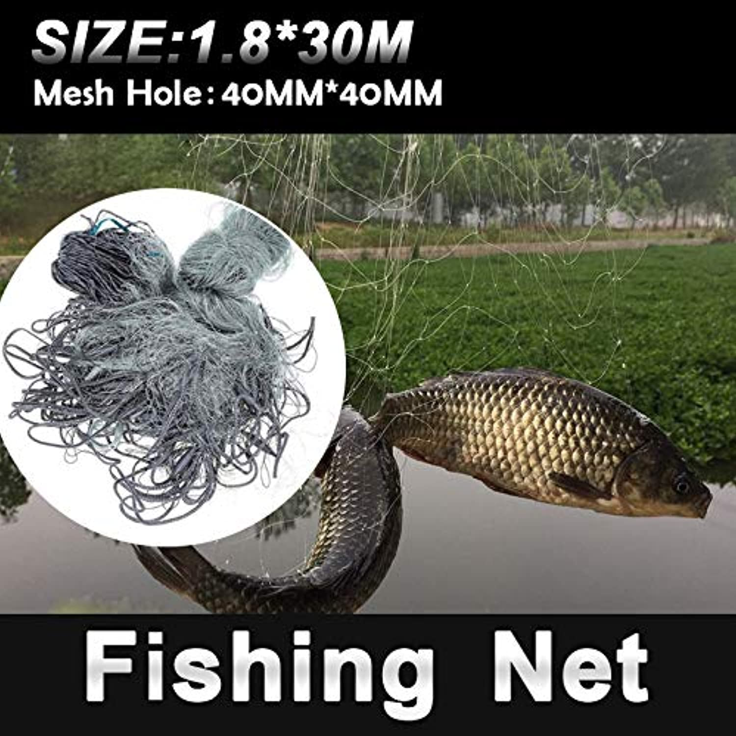 Multifilament Gill Net Portable 3 Floors Folding Fishnet Fine Fish Catch Fishing Net USA Cast Nets Water Hand Throw Fly Fishing