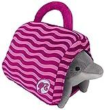 Happy People 52021 Barbie Plüsch Delfin, mit Tasche, Stofftier, 18cm