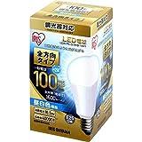 アイリスオーヤマ LED電球 E26 全配光タイプ 調光器対応 100W形相当 昼白色 LDA17N-G/W/D-10V1