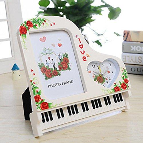 General supplies Großer Wecker mit Rahmen Klavierzubehör mit Zwei verstellbaren Tasten