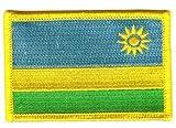 Flaggen Aufnäher Patch Ruanda Fahne Flagge NEU