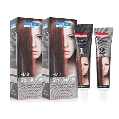 Panchvati Herbals Hair Straightener Cream 120 ml, Pack of 2, 240 ml