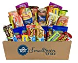 College Care Package Snack Box - 30 Count - Huge Selection of Individually Wrapped Dorm and Study...
