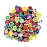 Caldo ragazza 50pc canne 3d design canne Sticks Adesivo Decorazioni Nail Art Nail Art Strumenti