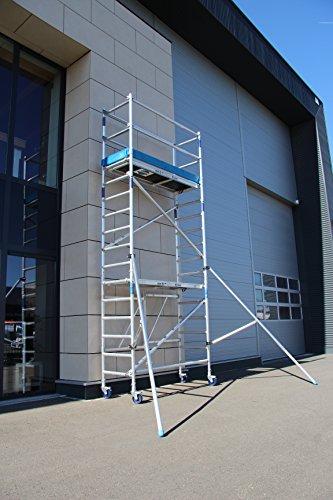 ASC Rollgerüst, Fahrgerüst 3,0-7,85 m Arbeitshöhe, DIN EN 1004 & 1298, Gerüstklasse 3 (1, 5,85 m)