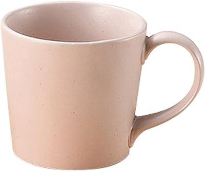 山下工芸 美濃焼 大恵ピンクマットマグカップ 8×8.5×8.5cm 200cc 13044030