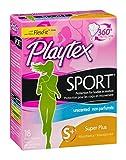 Playtex Femcare Sport Tampons, Super Plus Unscented 18 each by Playtex