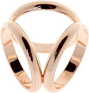 Geometric Lady Girls Scarf Ring Silk Clip Buckle Charms Fashion Winter Decor | Item - Tricyclic Rose Gold