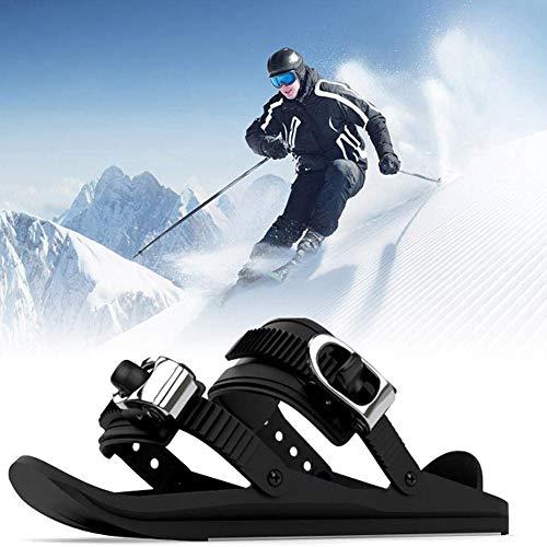 Twnhmj Mini Skates Sneeuwschoenen, Professionele Verstelbare Outdoor Snowboarden Schoenen, Winter Duurzame Sneeuw Wandelen Snowboard Sneaker Accessoires voor Volwassenen, Winter Sportuitrusting