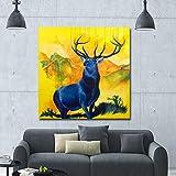 WSWWYEstilo nórdico Lienzo impresión del Arte póster decoración del hogar...
